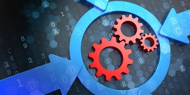 Cogwheel Gear Mechanism Icon Inside the Target on Digital Background. Business Concept.-922259-edited.jpeg