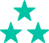 ico-interface-three-stars-turquoise