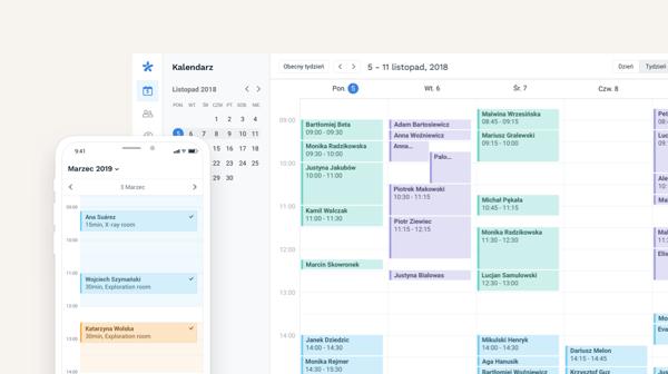 kalendarz wizyt online