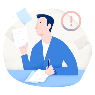 illu-doctor-contract-warning-blue-noise-1