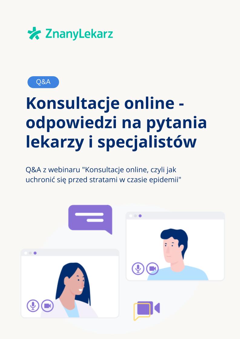 okładka Q&A webinar konsultacje online
